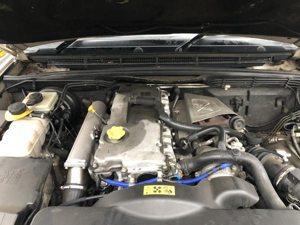 Clean 2.5 auto engine