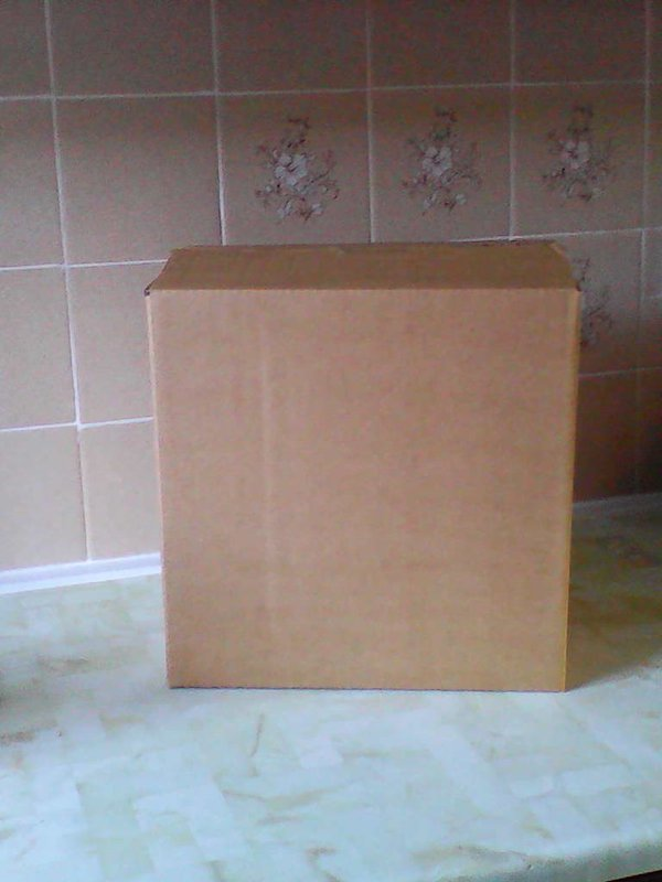 New flat packed cardboard boxes