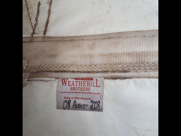 Weatherill Brothers marquee roofs