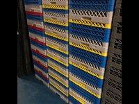 Dishwasher safe storage crates