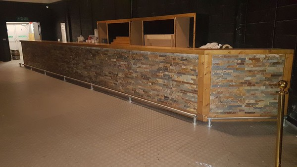Second Hand Bar For Sale with Foot Rail