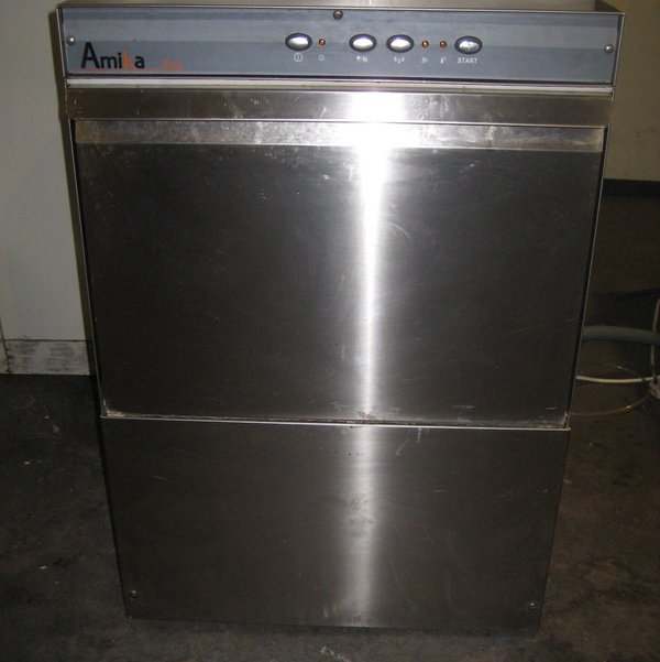 Amika 6XL Single Phase Commercial Dishwasher