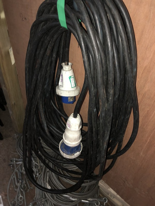 63amp Cables & 32amp Single Phase