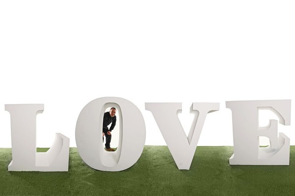 Giant LOVE Prop Letters