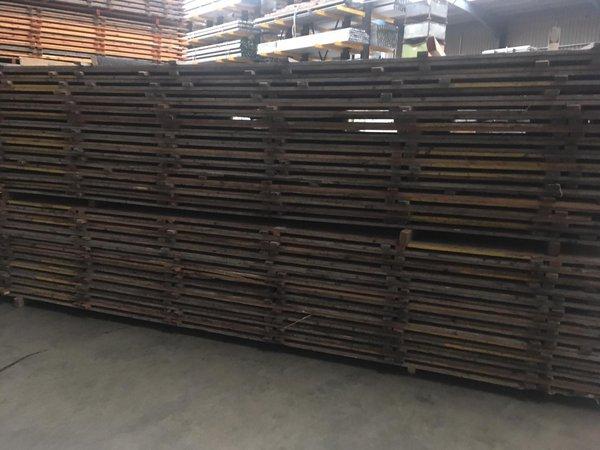 Marquee wood floor