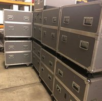 Flight cases, storage box