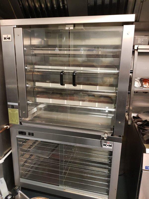 MCM 4 Spit Rotisserie Oven