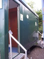 4 person LPG shower trailer