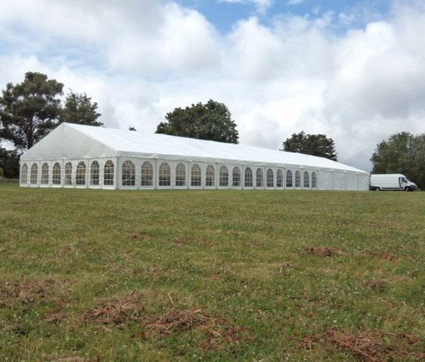 12m x 30m Custom Covers marquee for sale