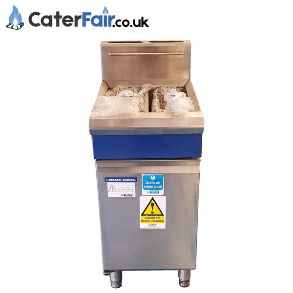 Used Blue Seal Gas Twin Fryer
