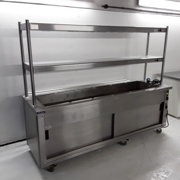 Used Victor CARIB2.419 6 Pot Carvery Hot Cupboard (7854)