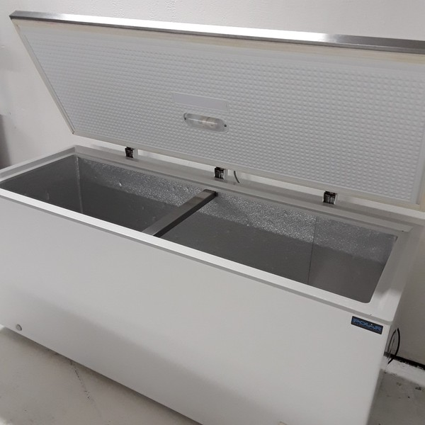 Used Polar CM531 Stainless Steel Chest Freezer (7856)