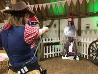 John Wayne Quick Draw / Saloon Bar Shoot Out Game