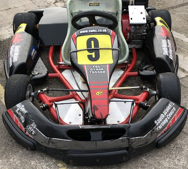 Birel karts with GX200 engines