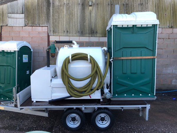 Loo delivery trailer for sale