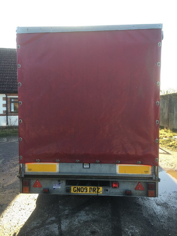 Ifor Williams Curtain Side Trailer