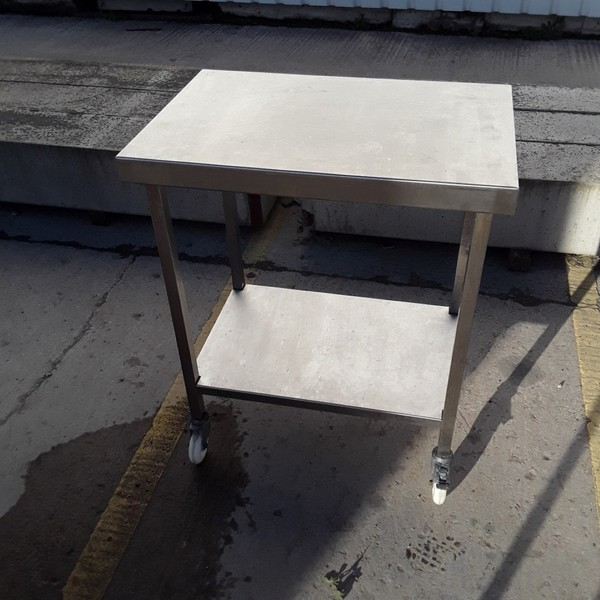 Used  Stainless Steel Table	(7860)