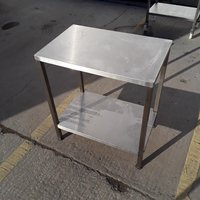 Used Stainless Steel Table (7861)