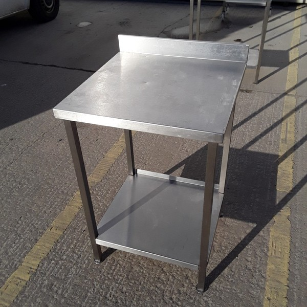 Used   Stainless Steel Table	(7862)