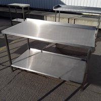 Used  Stainless Steel Table (7864)