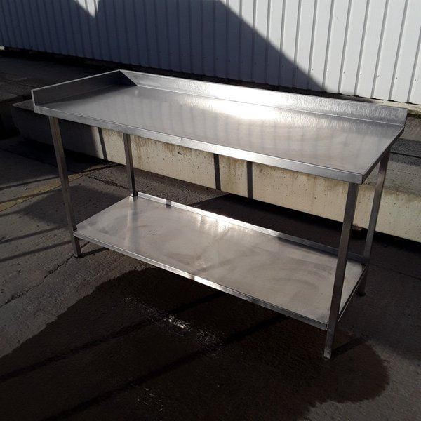 Used Stainless Steel Table (7865)