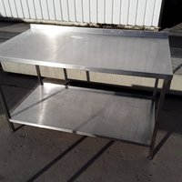Used Stainless Steel Table (7866)