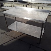 Used  Stainless Steel Table (7867)