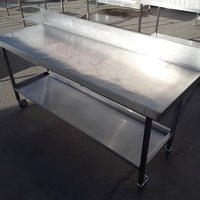 Used Stainless Steel Table (7868)
