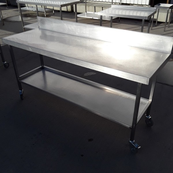 Used Stainless Steel Table (7870)