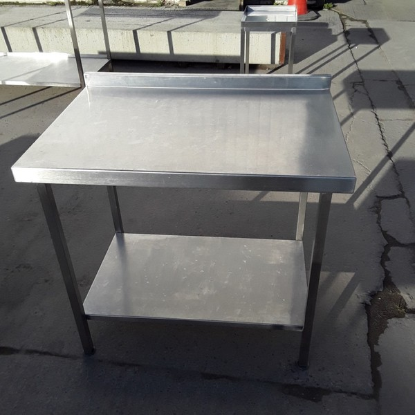 Used Stainless Steel Table (7871)