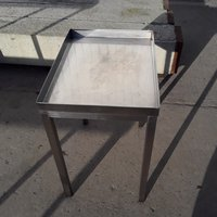 Used Stainless Steel Stand	(7872)