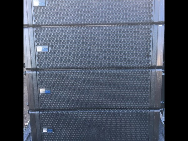 Used Meyer M1D Line array system with LD-3 Line Driver
