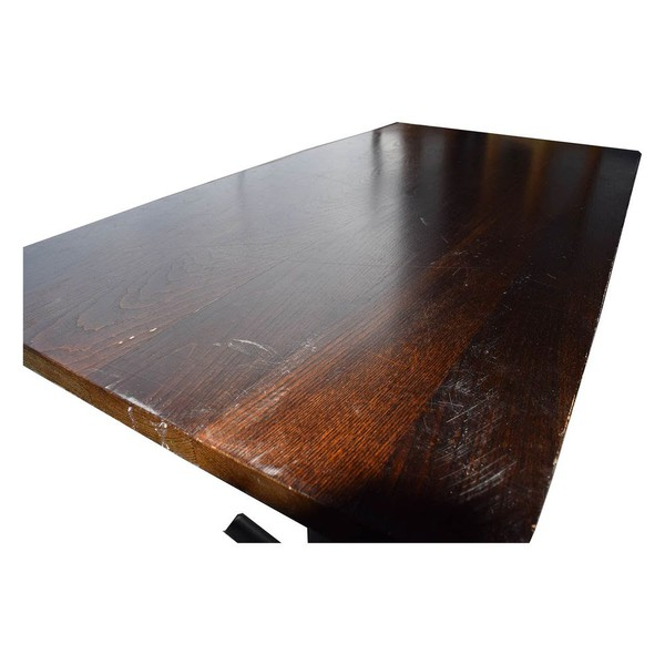 Use rectangular dining table