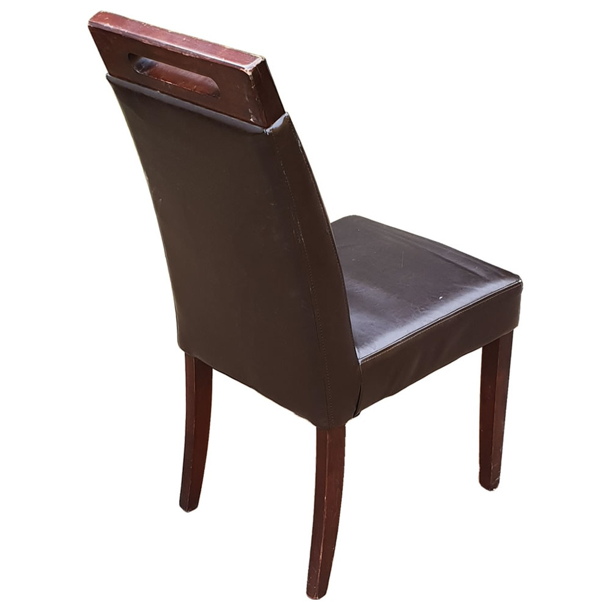 Enjoyable 20X Ex Restaurant Brown Leather Dining Chairs Product Code Mf3148 Peterborough Cambridgeshire Evergreenethics Interior Chair Design Evergreenethicsorg