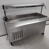 Used Moffat 4U5R Stainless Carvery Display Fridge (7874)