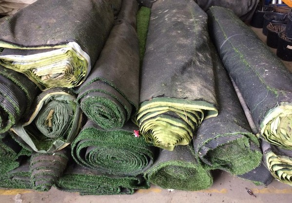 Rolls of Second Hand AstroTurf
