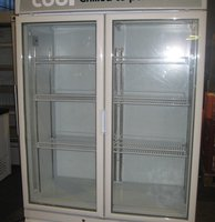 Capital Double Door Display Chiller