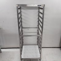 New B Grade Moffat  Stainless Steel Double Gastro Trolley (7877)