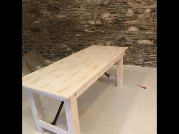 20 Trestle Table Sets