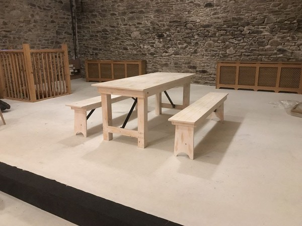Events Trestle Table Sets