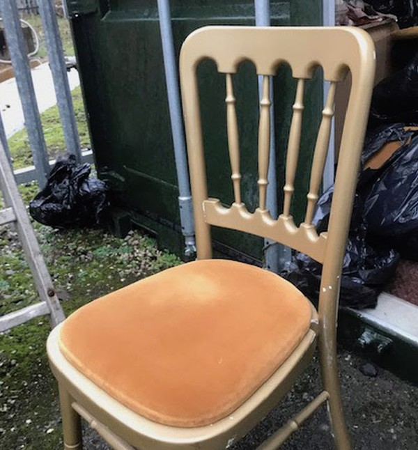 Gold Gilt Cheltenham Banquet Chairs