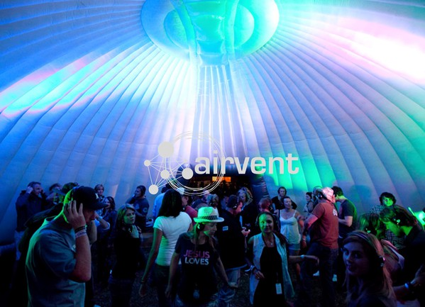 Inflatable marquee 14m