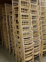 Limewash Chiavari Banqueting Chairs for sale
