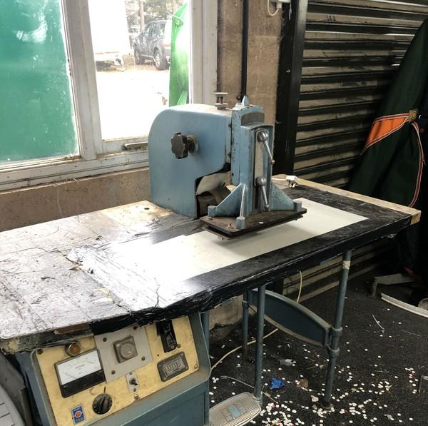 Used HF pvc welder
