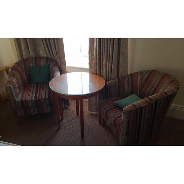 Hotel lounge chairs