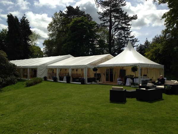 Clearspan wedding marquee packages