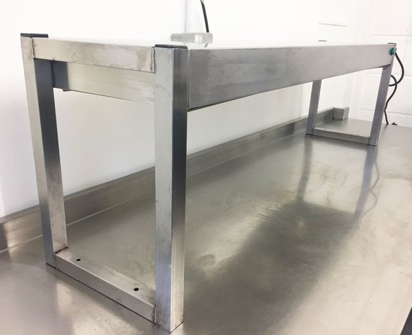 Stainless steel shefs pass
