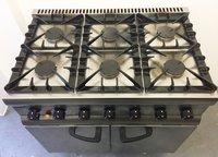 Lincat Silverlink 6 Burner Gas Oven Range