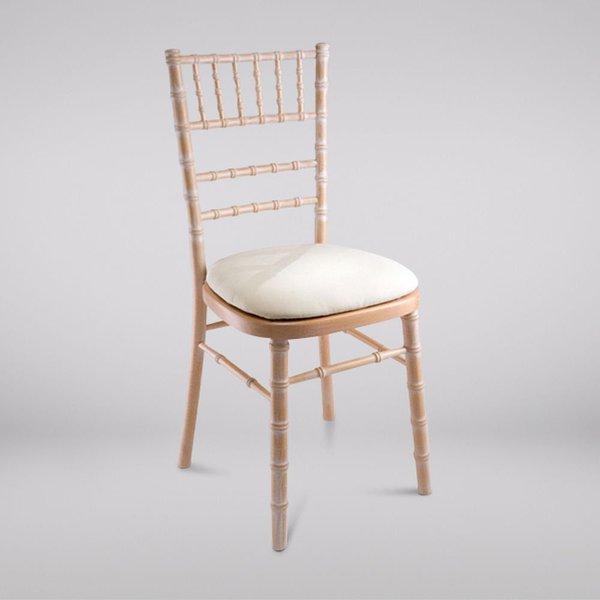 Brand New Limewash Chiavari Chairs inc Seat Pads