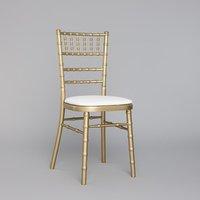 Brand New Gold Chiavari Chairs inc Seat Pads